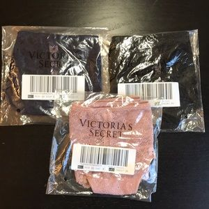 3 pack Victoria's Secret Strap Hipster Thong Panty